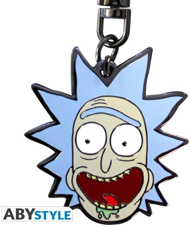 Брелок Rick And Morty: RickБрелок Rick And Morty: Rick создан по мотивам популярного американского мультсериала «Рик и Морти».<br>