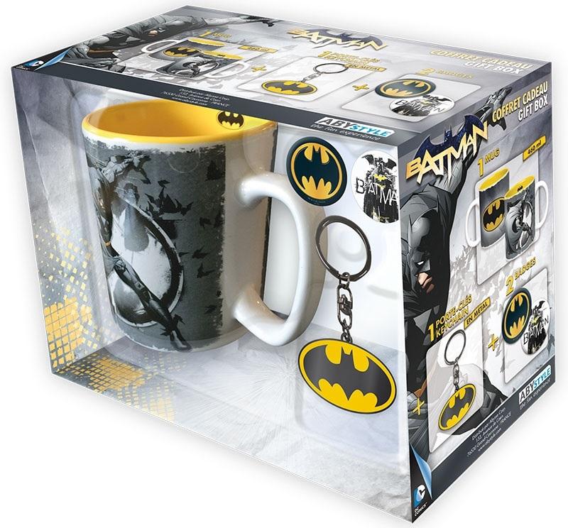 Подарочный набор Batman (кружка, брелок, значки)