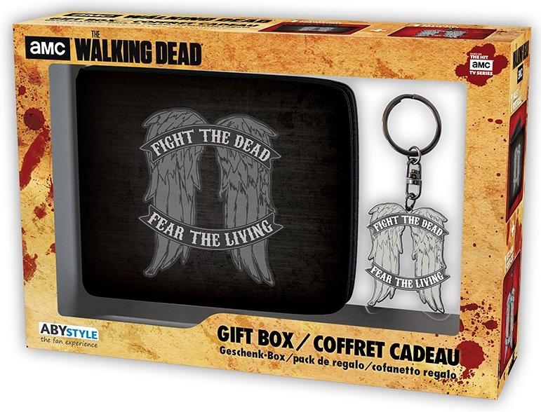 Подарочный набор The Walking Dead: Daryl Wings (кошелек, брелок) худи print bar the walking dead