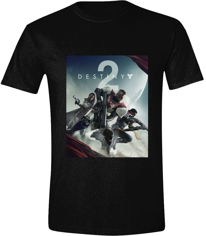 Футболка Destiny 2: Key Art (черная)Футболка Destiny 2: Key Art создана по мотивам видеоигры в жанре научно-фантастического мультиплеерного шутера от первого и третьего лица. Она станет отличным подарком для фанатов игры.<br>