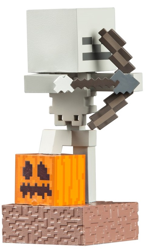 Фигурка Minecraft Adventure: Skeleton (10 см) фигурка minecraft adventure alex 10 см