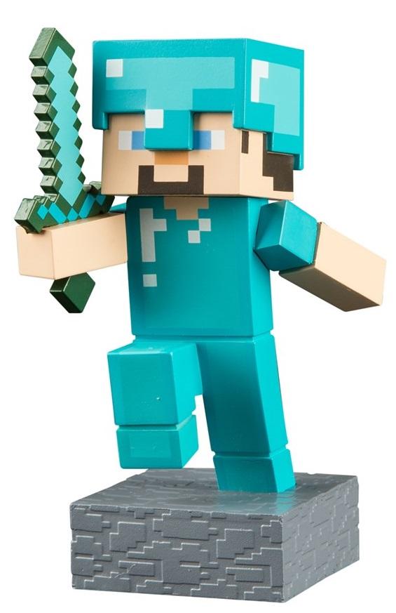 Фигурка Minecraft Adventure: Steve (10 см)Фигурка Minecraft Adventure: Steve воплощает собой одного из персонажей популярной компьютерной игры Майнкрафт.<br>