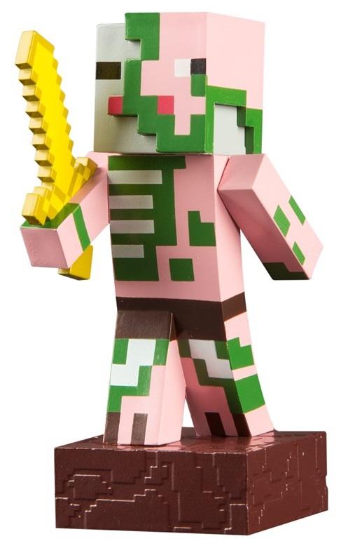 Фигурка Minecraft Adventure: Zombie Pigman (10 см)Фигурка Minecraft Adventure: Zombie Pigman воплощает собой одного из персонажей популярной компьютерной игры Майнкрафт.<br>