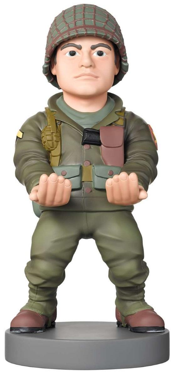 Фигурка-держатель для телефона Call Of Duty WWII: Ronald «Red» DanielsФигурка-держатель для телефона Call Of Duty WWII: Ronald «Red» Daniels создан по мотивам видеоигры в жанре трёхмерного шутера от первого лица, которая разработана студией Sledgehammer Games.<br>