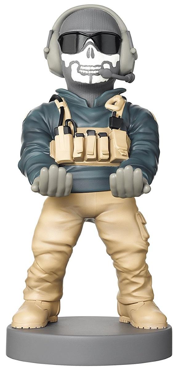 Фигурка-держатель для телефона Call Of Duty WWII: Simon «Ghost» RileyФигурка-держатель для телефона Call Of Duty WWII: Simon «Ghost» Riley создан по мотивам видеоигры в жанре трёхмерного шутера от первого лица, которая разработана студией Sledgehammer Games.<br>