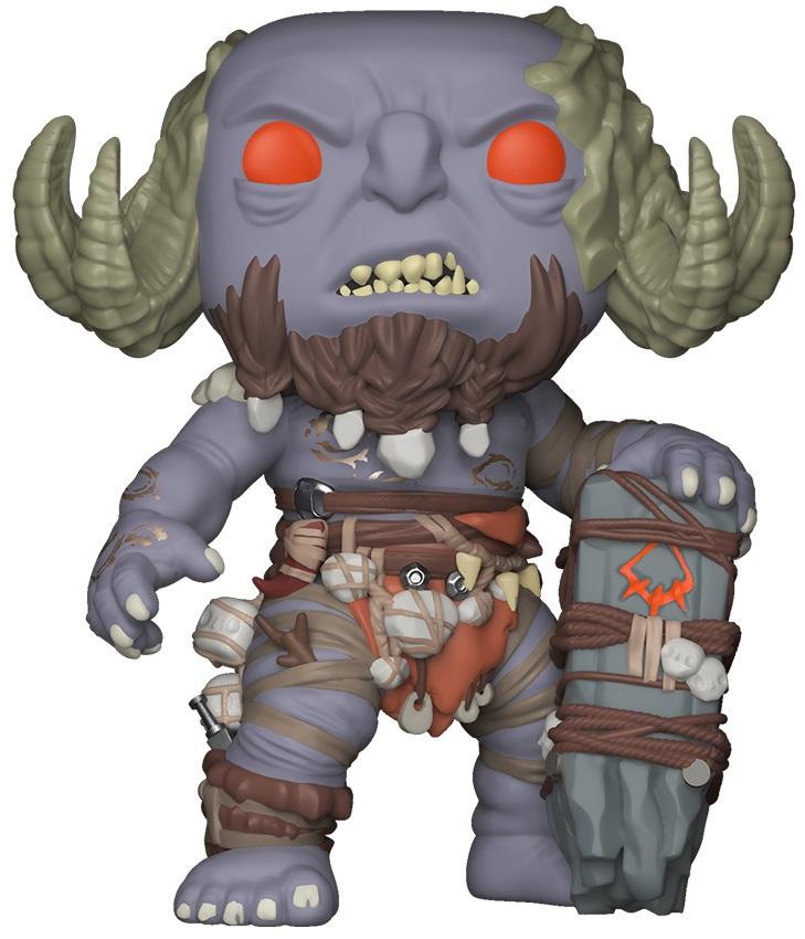 Фигурка God Of War Funko POP Games: Troll (9,5 см)Перенеситесь в скандинавскую мифологию вместе с фигуркой God Of War Funko POP Games: Troll от компании Funko, которая воплощает собой Тролля – существо с огромной колонной вместо оружия.<br>