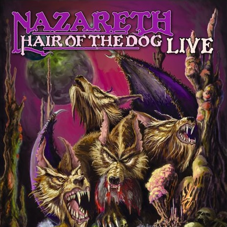 Nazareth – Hair Of The Dog Live (LP) heir of the dog