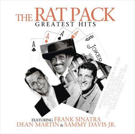 The Rat Pack – Greatest Hits: Frank Sinatra &amp; Dean Martin &amp; Sammy Davis Jr. (LP)Альбом The Rat Pack – Greatest Hits включает лучшие выступления Фрэнка Синатры, Дина Мартина, Сэмми Дэвиса в составе коллектива The Rat Pack.<br>