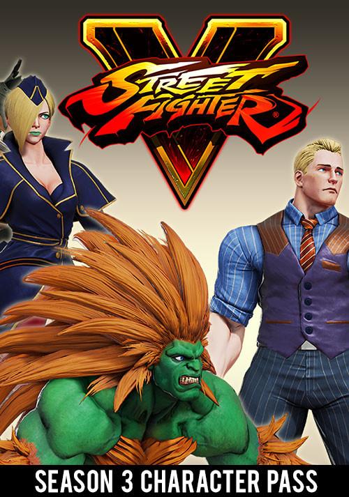 Street Fighter V: Season 3 Character Pass [PC, Цифровая версия] (Цифровая версия)Street Fighter V: Season 3 Character Pass содержит 6 дополнительных персонажей: Sakura, Blanka, Falke, Cody, G и Sagat. Каждый из них имеет боевой премиум-костюм с доступом к расцветкам 3–10, а также особый титул.<br>