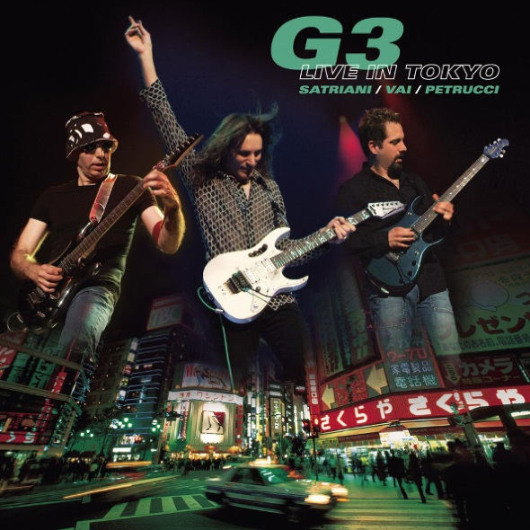 Joe Satriani & Steve Vai & John Petrucci  – G3 Live In Tokyo (2 CD) cd joe satriani shockwave supernova