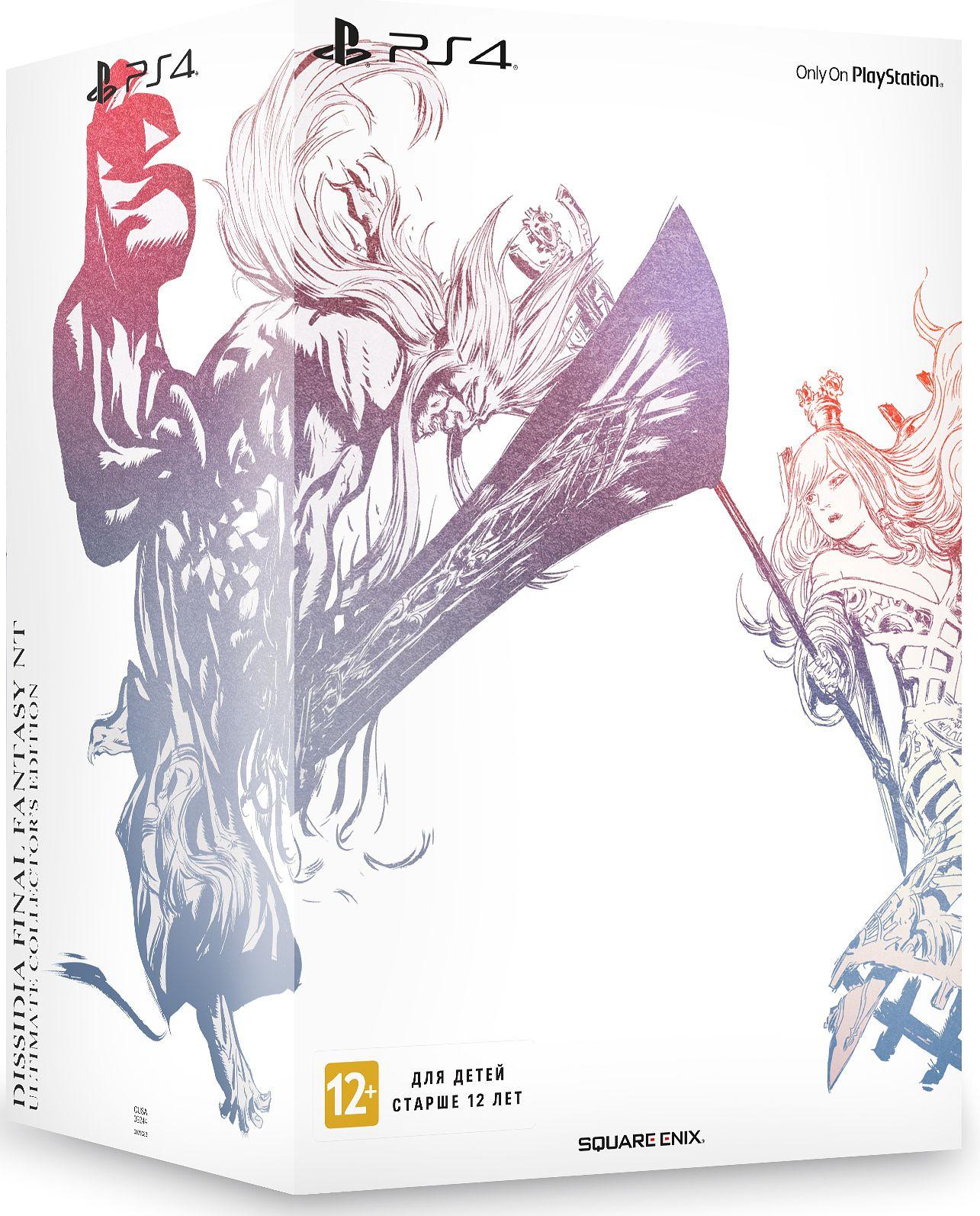 Dissidia Final Fantasy NT. Коллекционное издание [PS4]