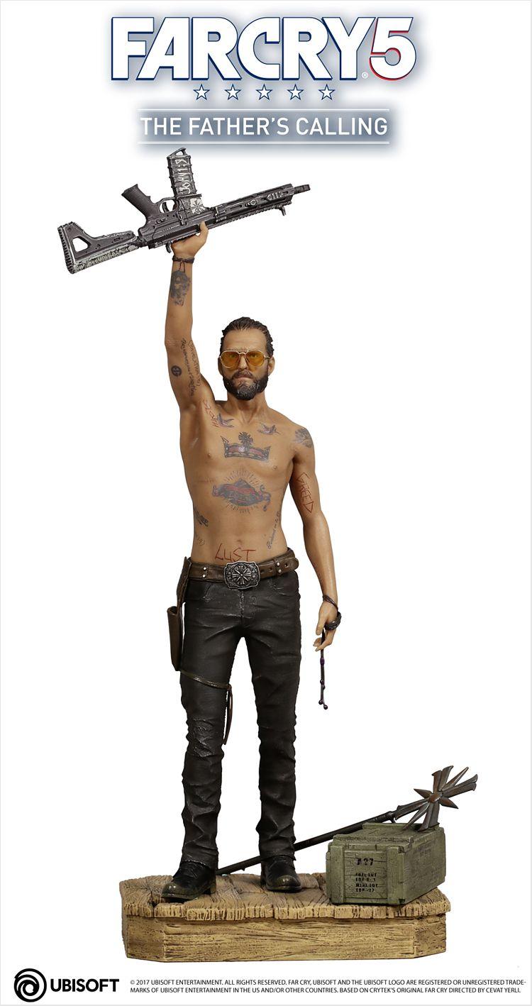 Коллекционная фигурка Far Cry 5: The Father's calling – Joseph (32 см) ubisoft far cry 4 специальное издание русская версия