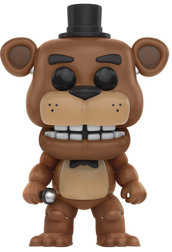 Фигурка Funko POP Games Five Nights At Freddy's: Freddy (9,5 см) five nights at freddy s 4 fnaf bonnie foxy freddy fazbear bear plush toys doll 10 stuffed animals doll kids christmas dolls