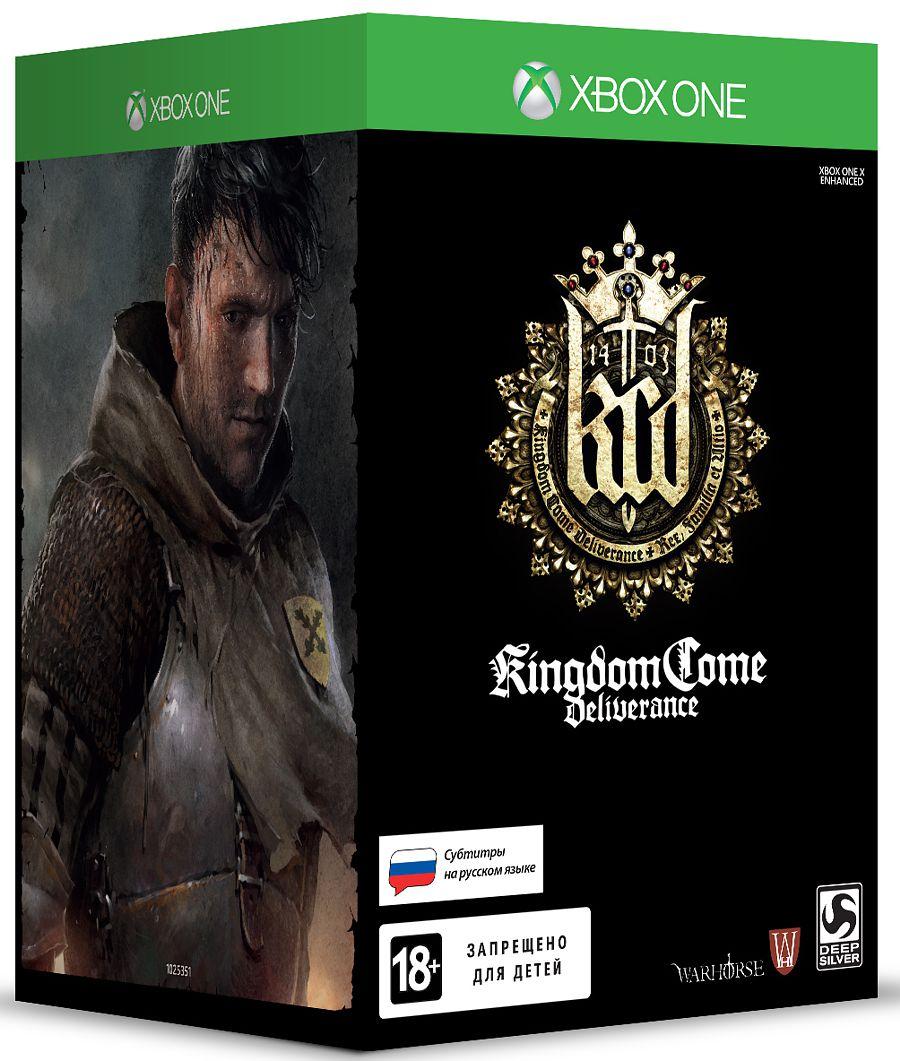 Kingdom Come: Deliverance. Коллекционное издание [Xbox One] kingdom come deliverance steelbook edition [xbox one]