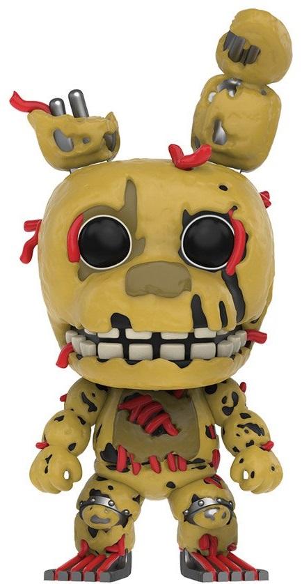 Фигурка Five Nights At Freddys Funko POP Games: Springtrap (9,5 см)Фигурка Five Nights At Freddys Funko POP Games: Springtrap создана по мотивам одной из самых известных серий видеоигр в жанре point and click и horror от разработчика Скотта Коутона.<br>