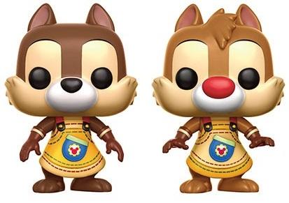 Набор фигурок Chip And Dale Funko POP (9,5 см)Набор фигурок Chip And Dale Funko POP создан по мотивам американского приключенческого анимационного сериала, созданного студией Walt Disney Television Animation.<br>