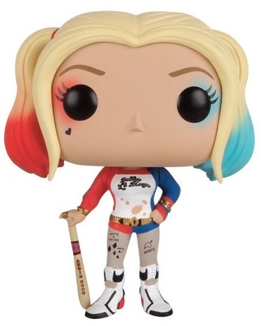 Фигурка Funko POP Heroes: Suicide Squad – Harley Quinn (9,5 см) 7 suicide squad harley quinn pvc action figure collectible model toy 18cm pop figures all with original box birthday gift