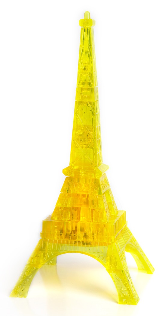 3D Puzzle Магический кристалл: Эйфелева башня с подсветкой пазлы crystal puzzle 3d головоломка эйфелева башня 96 деталей