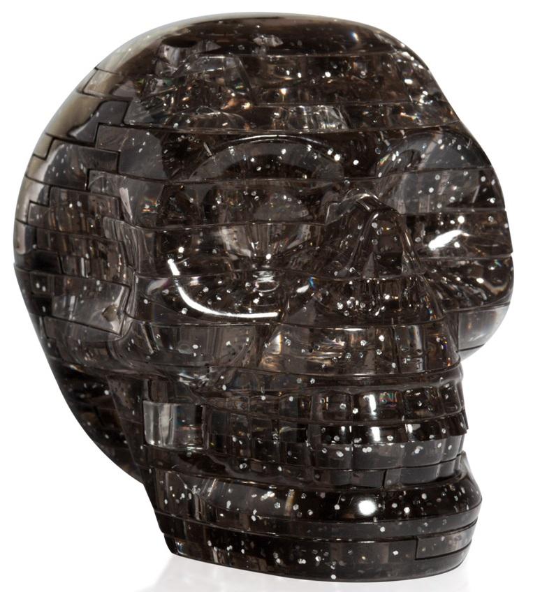 3D Puzzle Магический кристалл: Череп с подсветкой пазлы crystal puzzle 3d головоломка вулкан 40 деталей
