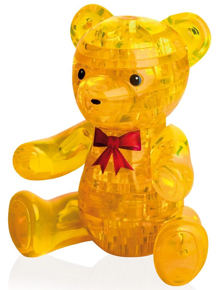 3D Puzzle Магический кристалл: Медвежонок3D Puzzle Магический кристалл: Медвежонок – это прекрасный способ провести время увлекательно и с пользой. Пазл выполнен из полупрозрачного пластика и состоит из 41 элемента.<br>