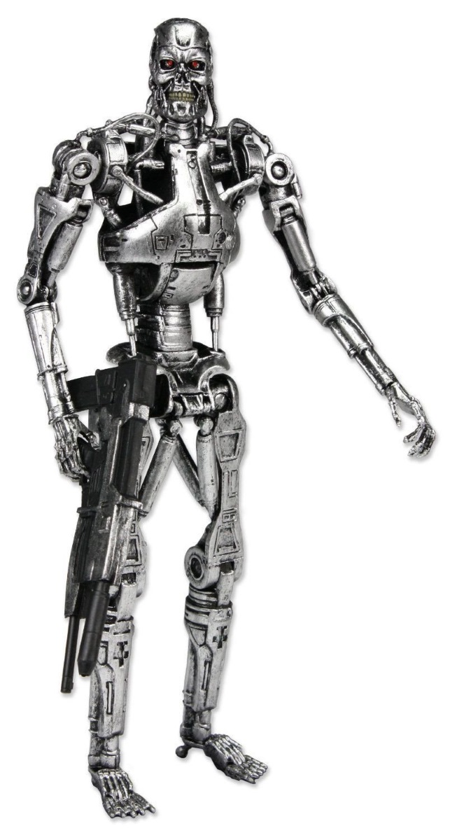 Фигурка Terminator 2: T-800 Endoskeleton (18 см)Фигурка Terminator 2: T-800 Endoskeleton создана по мотивам одного из лучших боевиков 1984 года «Терминатор» от режиссера Джеймса Кэмерона.<br>