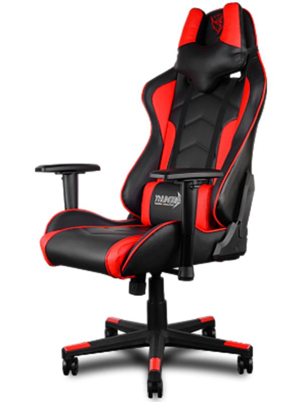 Геймерское кресло ThunderX3 TGC22-BRСозданное для игры и работы кресло ThunderX3 TGC22-BR &amp;ndash; это уникальный дизайн, абсолютный комфорт в течение всего дня, черная мягкая надежная экокожа и металлическая рама.<br>