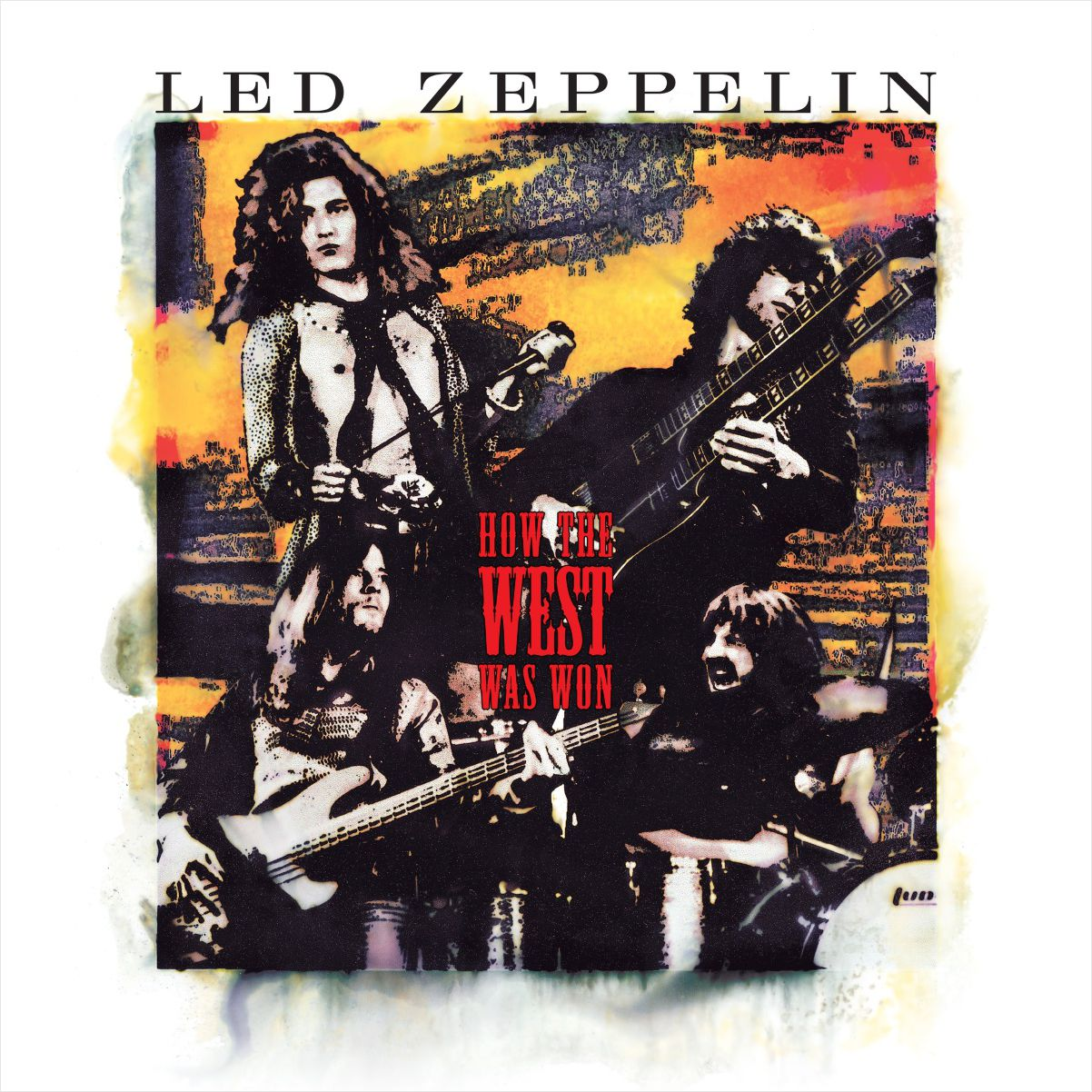 Led Zeppelin – How The West Was Won (4 LP) new original igm206 warranty for two year