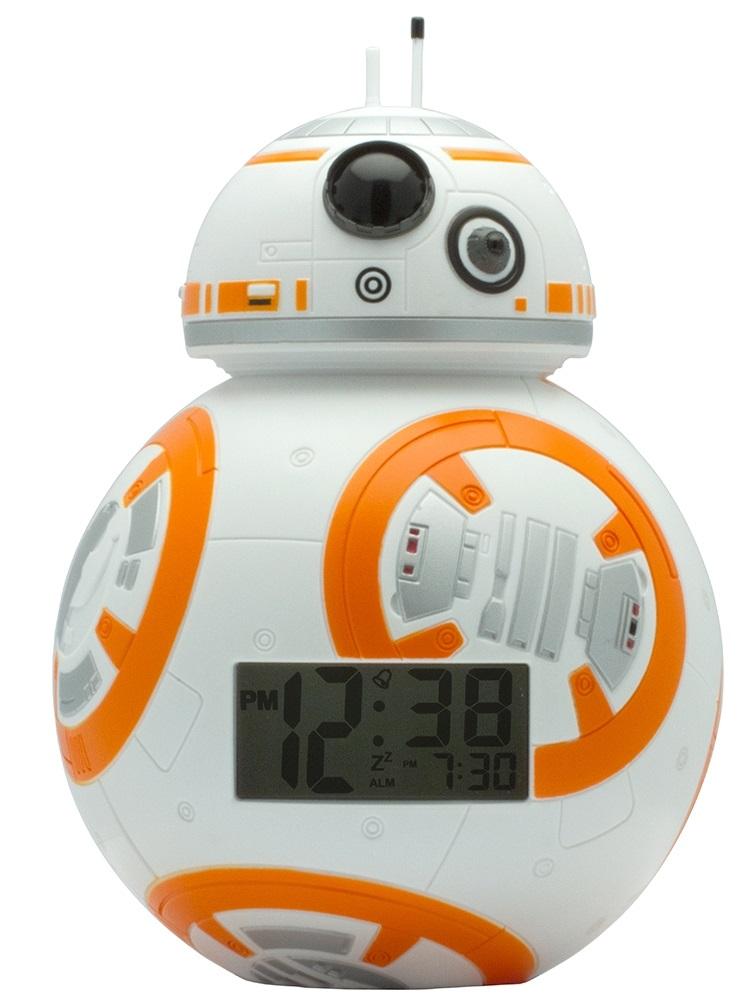 Будильник Star Wars: Droid BB-8Будильник Star Wars: Darth Vader создан по мотивам популярной космической саги «Star Wars» и выполнен в виде Дройда BB-8.<br>