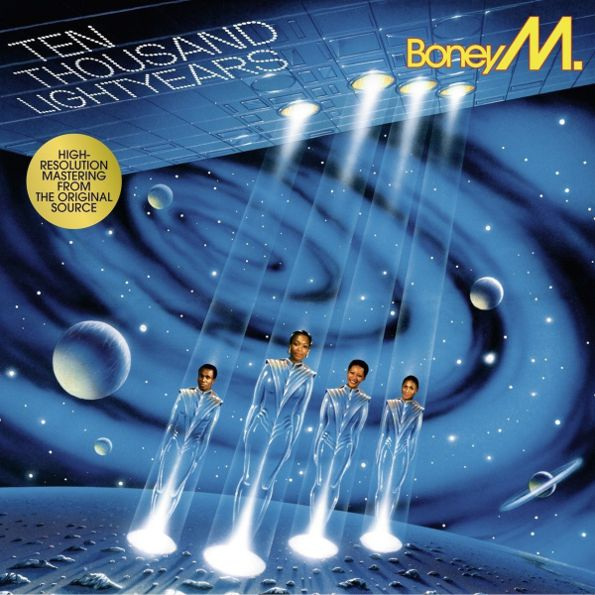 Boney M – Ten Thousand Lightyears (LP) boney m boney m boonoonoonoos lp
