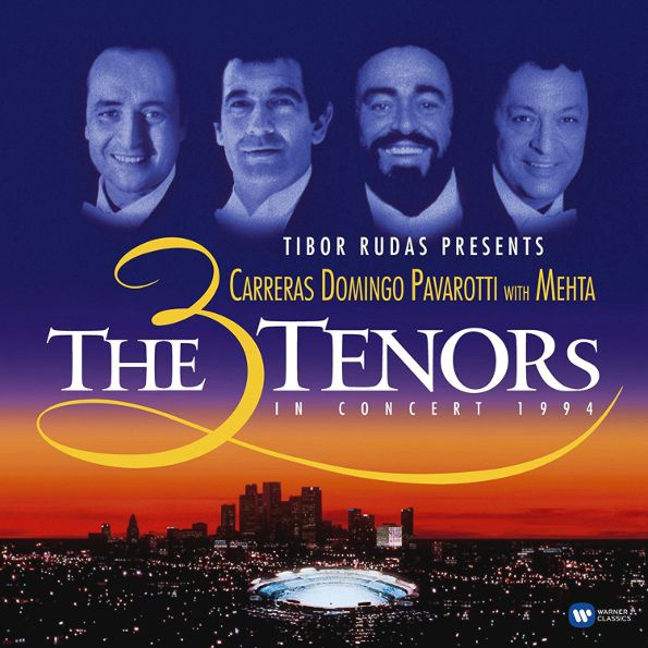 Jose Carreras & Placido Domingo & Luciano Pavarotti – The 3 Tenors In Concert 1994 (2 LP)