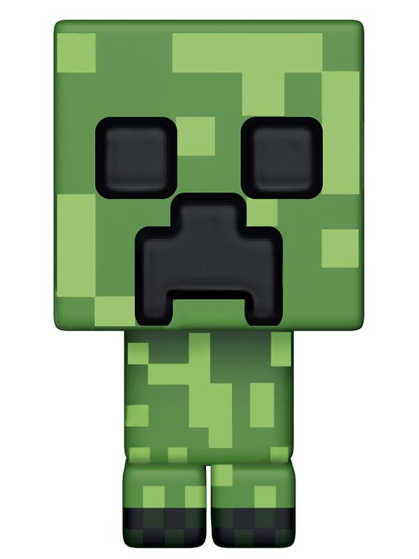 Фигурка Funko POP Games Minecraft: Creeper (9,5 см) mattel games фигурка персонажей minecraft