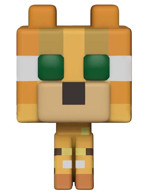 Фигурка Funko POP Games Minecraft: Ocelot (9,5 см)Вселенная Minecraft теперь, как на ладони... в виде милых фигурок серии Funko Pop! Фигурка Funko POP! Games: Minecraft – Ocelot, выполненная с особым вниманием к важным деталям, воплощает собой Оцелота – приручаемого дружелюбного моба, который встречается в джунглях Майнкрафт.<br>