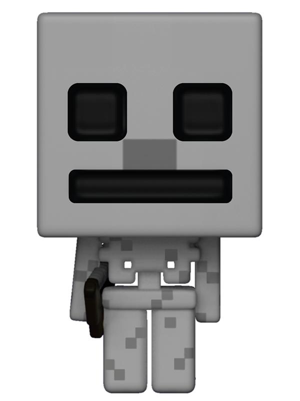 Фигурка Funko POP Games Minecraft: Skeleton (9,5 см) mattel games фигурка персонажей minecraft