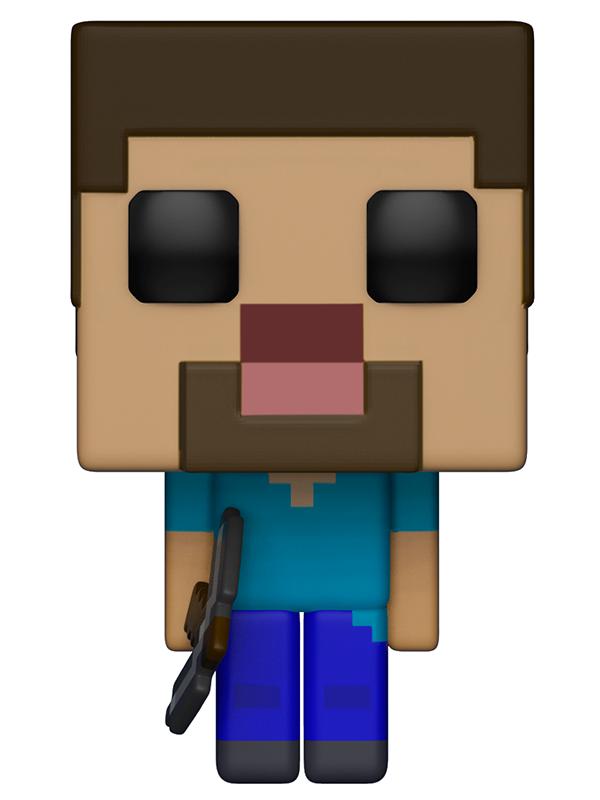 Фигурка Funko POP Games Minecraft: Steve (9,5 см) фигурка minecraft adventure steve 10 см