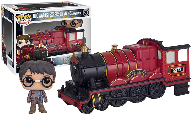 Фигурка Funko POP: Rides Harry Potter – Hogwarts Express Engine With Harry Potter (9,5 см) funko pop original 10cm boxed harry potter