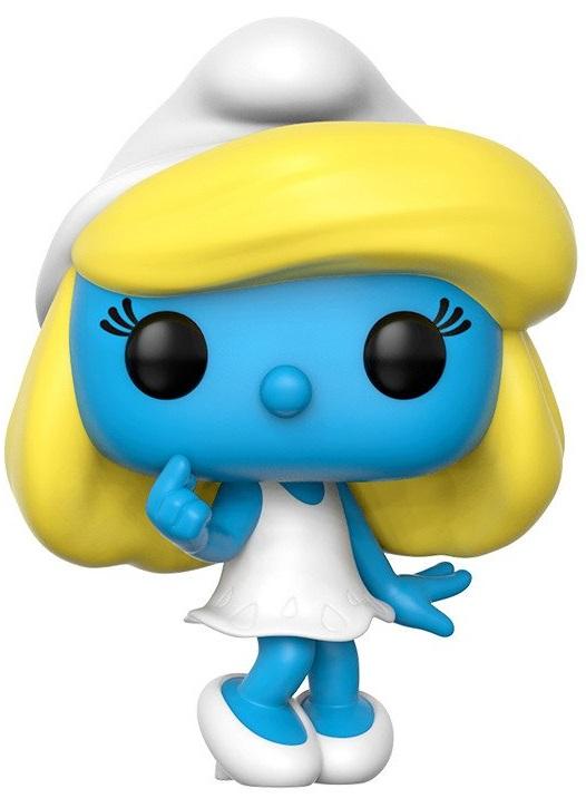 Фигурка The Smurfs Funko POP Animation: Smurfette (9,5 см)Фигурка The Smurfs Funko POP Animation: Smurfette создана по мотивам американо-бельгийского анимационного сериала и воплощает собой одного из Смурфиков.<br>