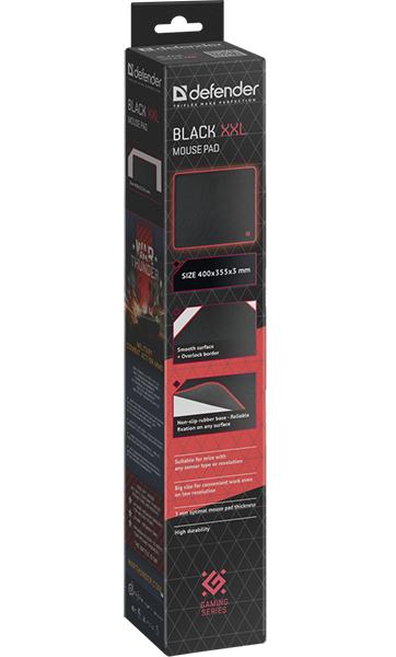 Коврик для мыши Defender Black (XXL)Коврик для мыши Defender Black имеет гладкую поверхность, подходит для оптических и лазерных мышей с любой чувствительностью и любым типом сенсора, не скользящая каучуковая основа, надежно фиксируется на любой поверхности.<br>