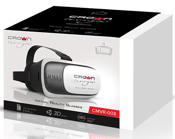 VR 3D очки Crown CMVR-003 для смартфонов цена