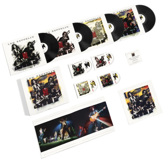 Led Zeppelin – How The West Was Won (4 LP + 3 CD + DVD) led zeppelin led zeppelin the complete bbc sessions 5 lp 3 cd