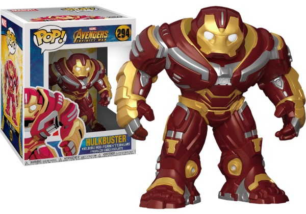 Фигурка Funko POP Marvel: Avengers Infinity War – Hulkbuster Bobble-Head (15 см) фигурка funko pop bobble marvel black panther nakia