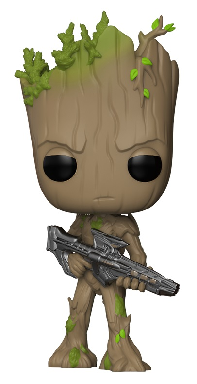 Фигурка Funko POP Marvel: Avengers Infinity War – Groot Bobble-Head (9,5 см) фигурка funko pop bobble marvel black panther nakia