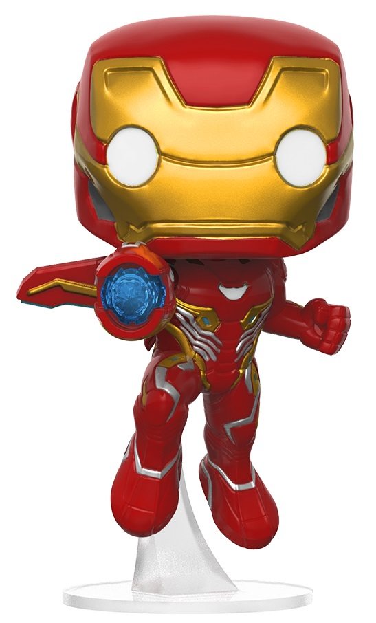 Фигурка Avengers Infinity War Funko POP Marvel: Iron Man Bobble-Head (9,5 см) фигурка funko pop games gears of war marcus fenix old man