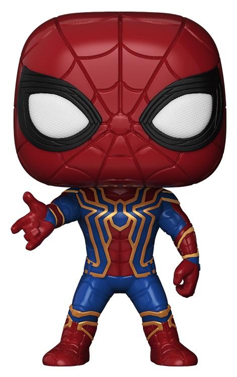 Фигурка Avengers Infinity War Funko POP Marvel: Iron Spider Bobble-Head (9,5 см) justice league superhero avengers infinity war iron man robot movable tony stark pvc action figure collectible model toy l535