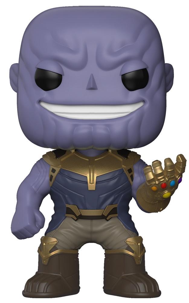 Фигурка Avengers Infinity War Funko POP Marvel: Thanos Bobble-Head (9,5 см) infinity kids 32134510002