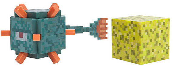 Фигурка Minecraft Series 4: Guardian (8 см) фото