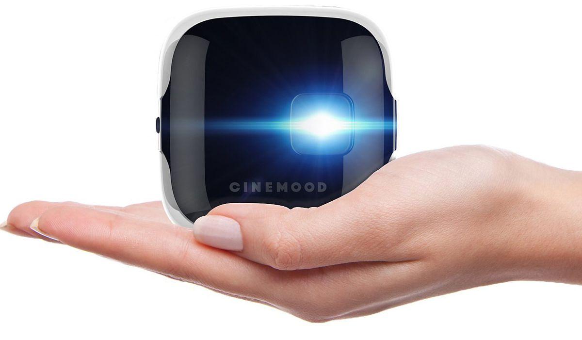 Мини-кинотеатр для всей семьи CINEMOOD Storyteller для презентации на выставке