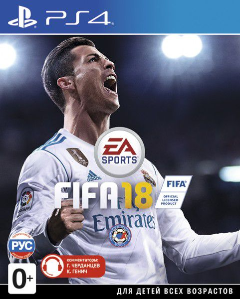 FIFA 18 [PS4]Вы готовы к величайшему сезону в истории? FIFA 18 на базе Frostbite стирает границы между виртуальным и реальным миром, досконально воссоздавая игроков, команды и атмосферу настоящего футбола.<br>