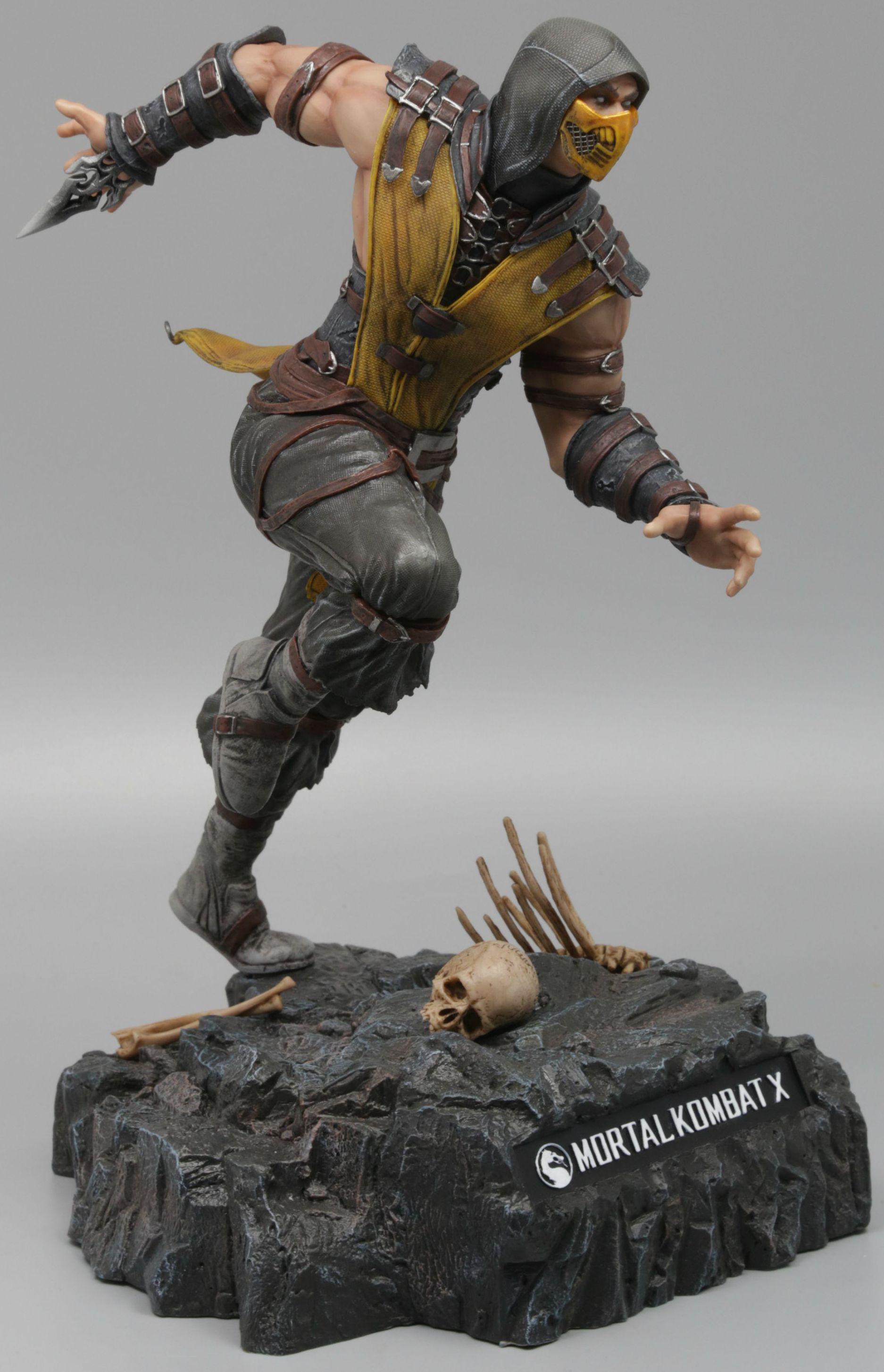 Фигурка Mortal Kombat X: Scorpion (28 см)WB Interactive совместно с Pure Arts представляют фигурку Скорпиона в его классическом стиле, созданную по мотивам последней части культового файтинга Mortal Kombat X!<br>