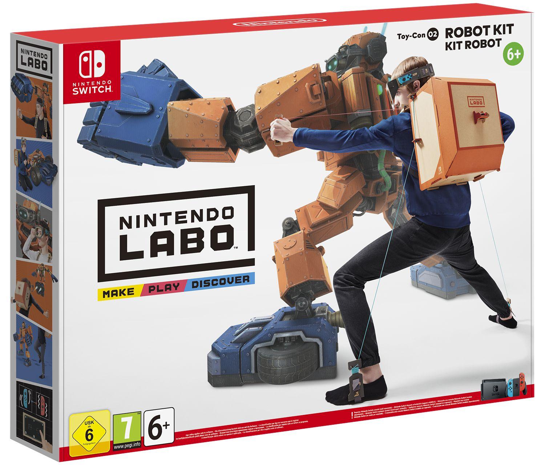 Nintendo Labo: набор «Робот» [Switch]