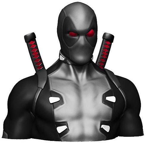 Копилка Deadpool: X-ForceКопилка Deadpool: X-Force создан по мотивам серии комиксов и фильмов вселенной Marvel об одном из самых популярных антигероев – Дэдпуле.<br>